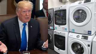 트럼프, 한국산 수입 세탁기ㆍ태양광 세이프가드 발동 결정