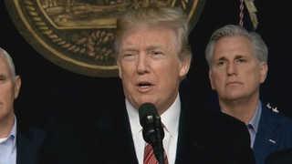트럼프, 다보스 포럼 참석 확정…셧다운 공식종료 앞두고 결정