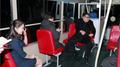 الزعيم الكوري الشمالي يشارك في تشغيل تجريبي لحافلة ترولي باص