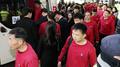 La troupe norcoreana regresa a casa