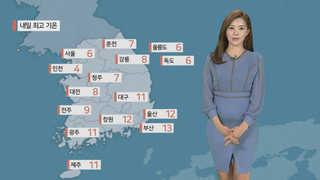 [날씨] 당분간 큰 추위 없어…오전까지 미세먼지↑