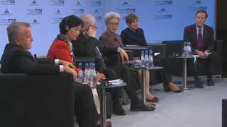 """""""끓는다 끓어"""" 美·EU,  뮌헨안보회의서 러시아 한목소리 비판"""