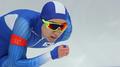 El patinador de velocidad Cha Min-kyu ob..
