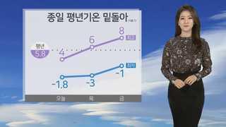 [날씨] 예년보다 쌀쌀, 낮 서울 4도…대기 매우 건조