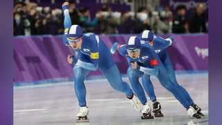 [올림픽] 남자 스피드 팀추월 은메달 확보…여자팀도 경기 마무리