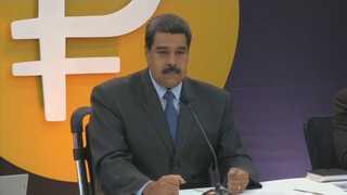 베네수엘라 가상화폐 '페트로' 발행…경제위기 타개할까
