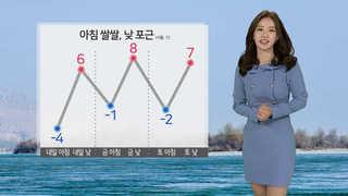 [날씨] 아침 쌀쌀ㆍ낮 기온↑…밤부터 눈, 영서 7㎝