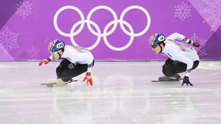 [속보] 황대헌, 임효준 남자 쇼트트랙 500m 은ㆍ동메달