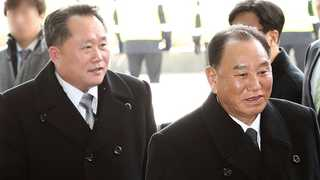 [뉴스초점] 北대표단, '천안함' 질문엔 '묵묵부답'