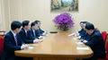 El líder norcoreano se reúne con los enviados especiales surcoreanos en la sede ..