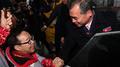 La delegación atlética norcoreana parte de PyeongChang de regreso al Norte