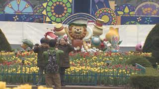 완연한 봄기운 가득…나들이객 여유 즐겨