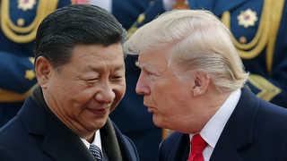 시진핑에 축전 안보내는 트럼프…미중 갈등 반영?
