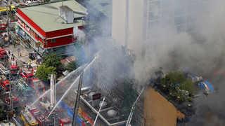 필리핀 마닐라 대형 호텔서 불 5명 사망…투숙 한인 26명 무사