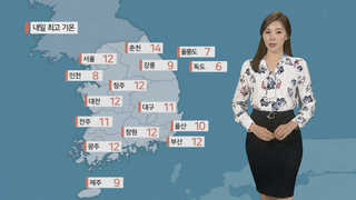 [날씨] 꽃샘추위 계속, 서울 아침 1도…낮에도 찬 바람
