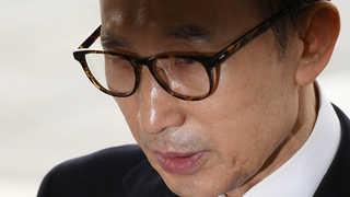MB 결국 구속수감…자택 떠나 서울동부구치소로