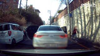 [현장영상] 훔친 차로 고흥∼인천 300㎞ 무면허 운전한 10대들