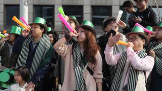 서울로 7017 봄축제 초록물결 퍼레이드 한창