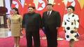 Kim Jong-un a effectué une visite en Chine avec son épouse
