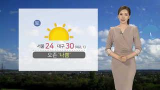 [날씨] 더위ㆍ미세먼지 계속…일요일 비오며 해소