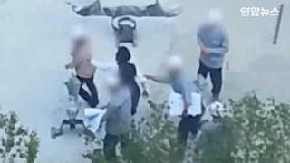 [현장영상] '밀치고 던지고'…조양호 부인 이명희 추정 '폭행 동영상' ..