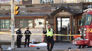 """캐나다 토론토 한인타운서 차량 돌진 """"한인 3명 사망"""""""