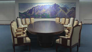 새단장한 회담장…한반도 평화 소망 담았다
