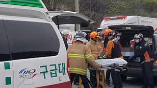 철광산서 돌덩이 근로자 덮쳐…2명 사망ㆍ3명 부상ㆍ1명 구조 중