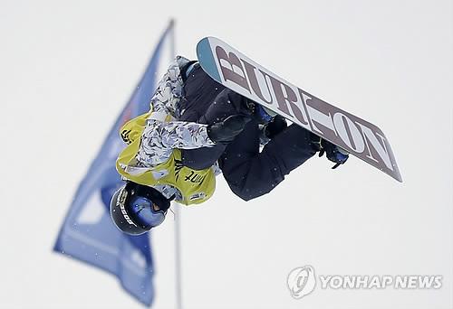 클라크, 하프파이프 월드컵 예선 1위…클로이 김은 4위