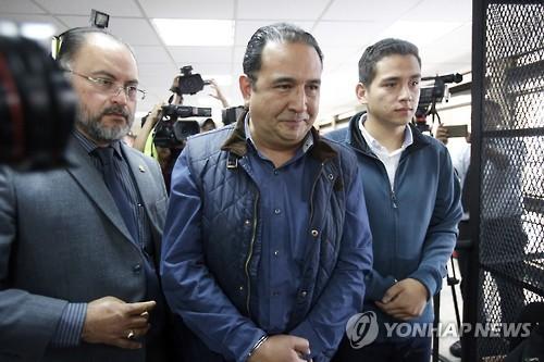 '반부패 주창' 과테말라 대통령 형ㆍ아들 사기 혐의로 체포