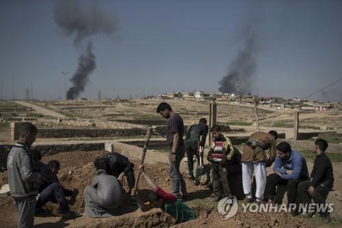 """""""이라크 역대급 민간인 오폭""""…미군 해당지역 공습 시인(종합)"""