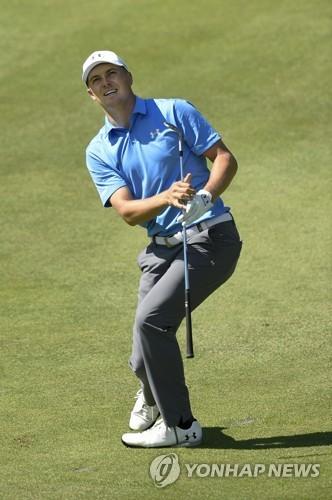 스피스, PGA 투어 트래블러스 챔피언십 이틀 연속 1위