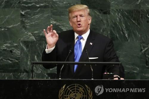 트럼프, '北 완전파괴' 언급…역대 최고수위 경고