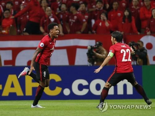 우라와 레즈, 상하이 상강 꺾고 AFC 챔피언스리그 결승 진출