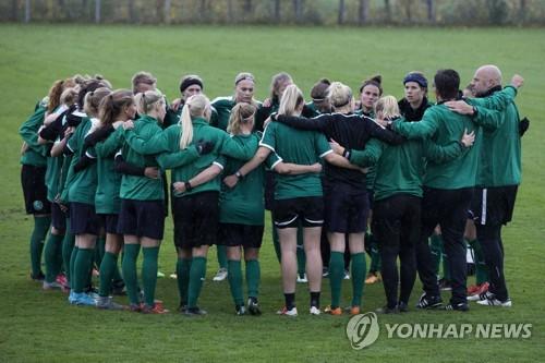 '덴마크 女축구대표팀은 파업중'…월드컵 예선전 취소