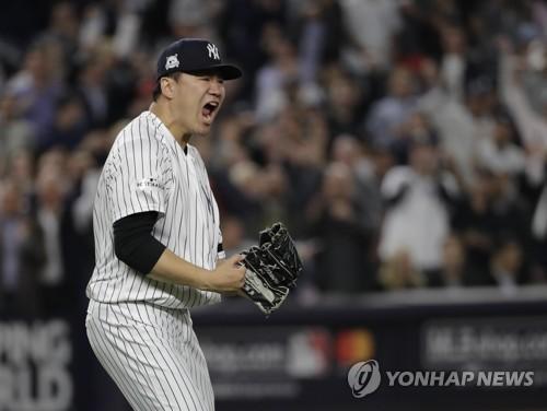 '다나카 7이닝 무실점' 양키스, ALCS 2패 뒤 3연승