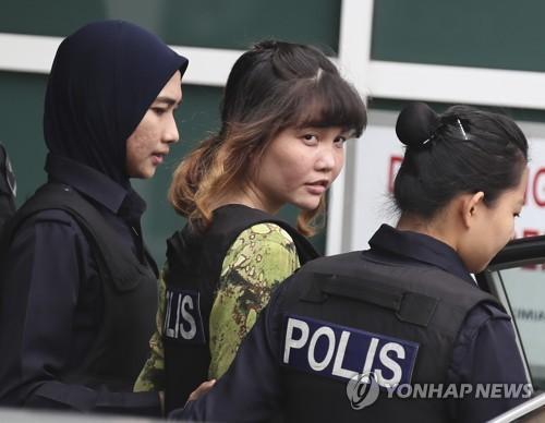 """계획살해 정황에도 김정남 암살 피고들 """"우린 무죄"""" 주장 고수"""