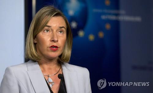 """EU """"시리아 東구타 즉각 휴전""""…러에 '30일 휴전안' 지지 촉구"""