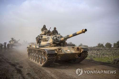 '2주' 전망했던 터키군 쿠르드공격 한 달…기약 없는 '작전종료'