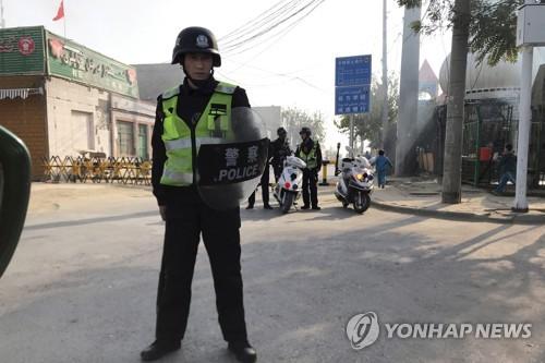 미국, 중국 신장자치구 인권탄압 연루자 제재 검토
