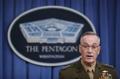 """미 합참의장 """"러시아에 시리아 공습 사전 통보 안 해"""""""