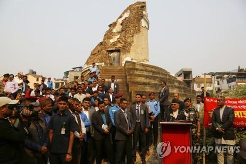 네팔 대지진 3년 더딘 복구…피해 주택 21%만 재건축 완료