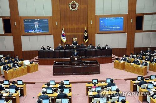 원아시아페스티벌 예산 놓고 부산시의회 예결위 파행