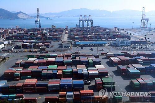 韓 1분기 수출증가세 10대수출국 중 1위…세계무역액 3년만에↑