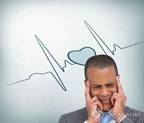 """""""우울증, 부정맥 위험↑"""""""