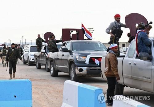"""""""쿠르드 합류 시리아 친정부군, 이란군 지원받는 NDF 민병대"""""""