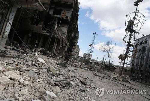 시리아 다마스쿠스 포탄공격에 35명 사망…수도 최악 피해(종합)