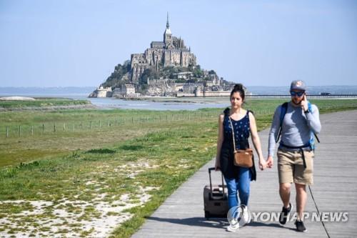 프랑스 명소 몽생미셸, 테러위험으로 관광객 대피