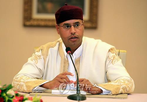 ICC, 사면·석방된 카다피 아들 사이프 알 이슬람 체포 요구