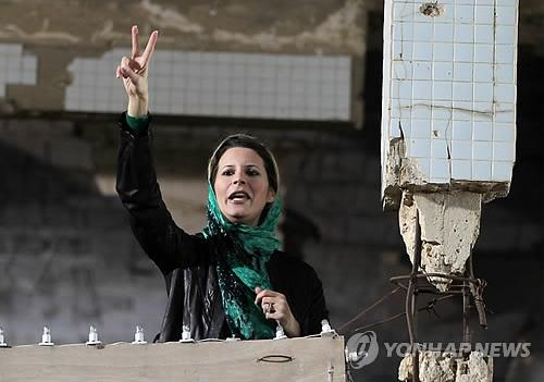 """유럽사법재판소 """"카다피 딸 재산동결·여행 금지 해제"""" 판결"""